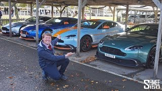 NOISY Aston Martin GT8s EVERYWHERE! | VLOG
