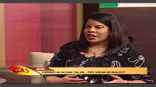 Cvm Sun Rise With Alicia Lyttle.Internet...