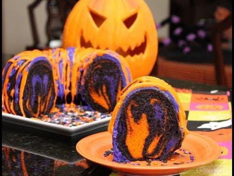 Nina Jackson - Halloween Recipe: Rainbow Party Cake