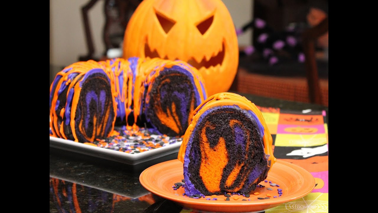 Famous Halloween Rainbow Party Cake