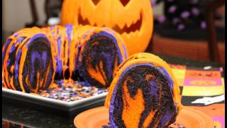 Famous Halloween Rainbow Party Cake - Recipes And Ideas For Simple Halloween Desserts