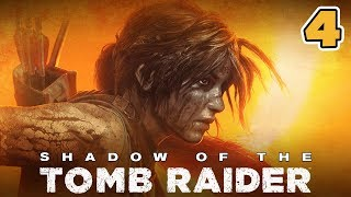 Shadow of the Tomb Raider PL (04) - Mała Lara! | 4K 60FPS | PC | Vertez
