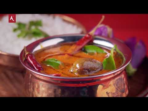 Nellai Puli Kulambu Recipe   Kathirikkai Puli Kulambu   Tamarind Gravy   Annapoorna Masalas & Spices
