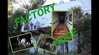 eXplore 007 - MICROFAB Abandoned (creepy...HUGE!!!) Factory!