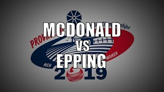2019 ONT Tankard FINAL - Epping vs McDonald