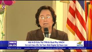 PHÓNG SỰ CỘNG ĐỒNG: Hội cứu trợ H.O cảm ơn nghệ sĩ Nam Lộc