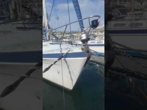 Anchor chain cleaning. Pt1