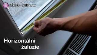 Zaměření a montáž žaluzií Zaluzie-online.cz