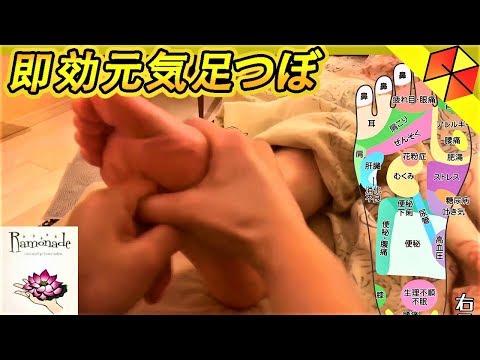 しぶとい疲れにしっかりすぐ効くラモネード本格足つぼ! / 強もみアロマ専門店ラモネード Japanese foot massage