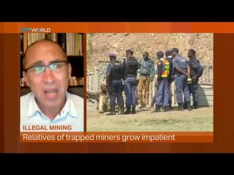 Money Talks: Illegal mining in South Africa, interview with Christopher Rutledge