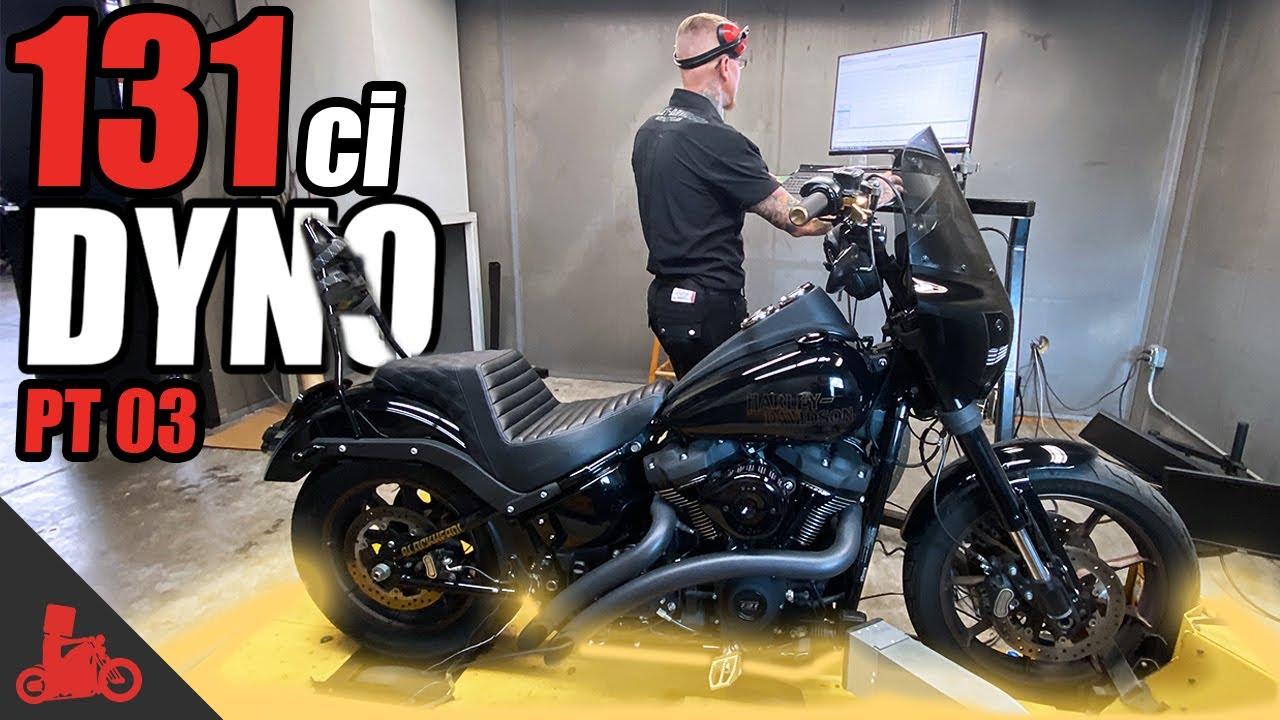 Harley 131ci Engine DYNO RUN! (Pt. 03)