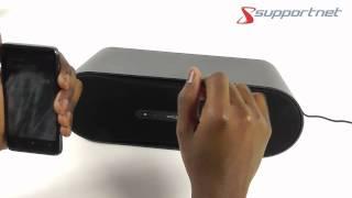 Creative D100 Wireless Bluetooth Lautsprechersystem, der erste Anschluß