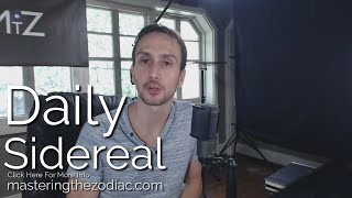 Daily Sidereal Astrology: Monday September 7th 2015 - Active Minds & Inspiration