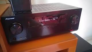 Pionner VSX-932 + Kit JBL Cinema 610 tocando música em stereo #Parte 2