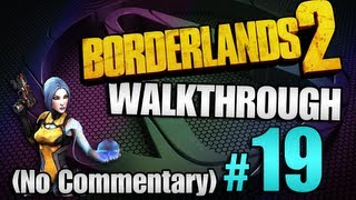 Borderlands 2 Walkthrough pt 19 - Gluttonous Thresher / Bright Lights, Flying City #2