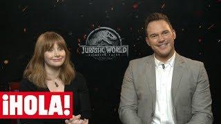 CHRIS PRATT y BRYCE DALLAS HOWARD, estrellas de 'JURASSIC WORLD: el reino caído'