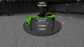 I bought the Mercedes AMG GTR!! [Roblox Ultimate Driving]