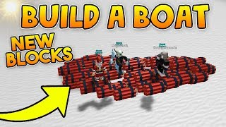 *NEW* DYNAMITE BLOCK! (Hacked Item)💥 | Build a boat For Treasure ROBLOX