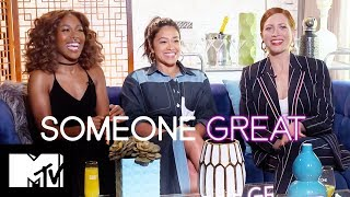 The Someone Great Cast Play Our Real Or Fake Cocktail Game MTV Movies