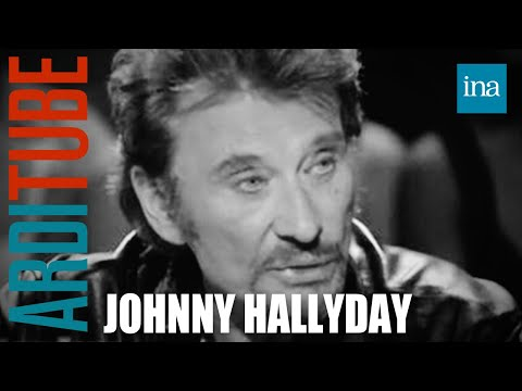 Johnny Hallyday parle de son père et de son enfance | Archive INA