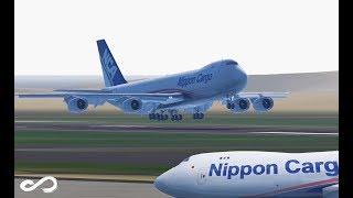 Nippon Cargo - B747-8 | Hongkong to Tokyo | Infinite Flight Global