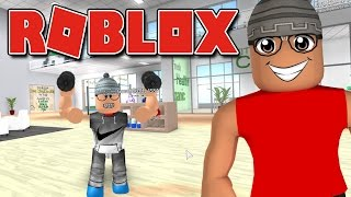 Roblox - Godenot na ACADEMIA ( ROBLOX Fitness Center )