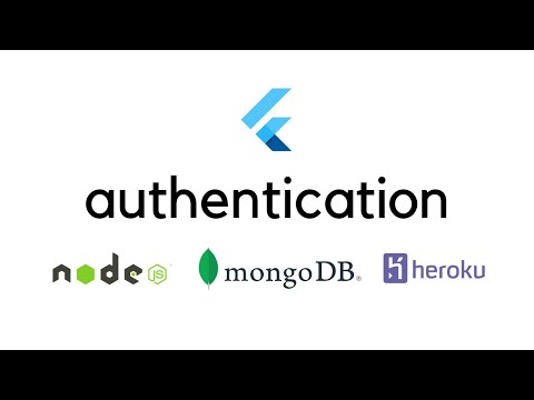 Flutter - Authentication with MongoDB, Nodejs and Express