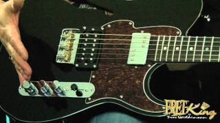 Fret-King Black Label Country Squire Semitone