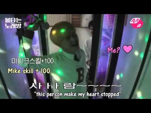 BTOB burning karaoke ENG SUB  funny changjae cute 비투비불타는노래방 엠투  노래모음