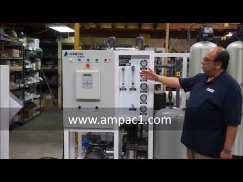 Ampac USA Seawater Desalination Watermakers SWRO4500