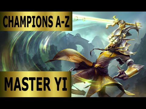 Champions A-Z #062 Master Yi Jungle Guide - Full Gameplay [German] League of Legends by DPoR