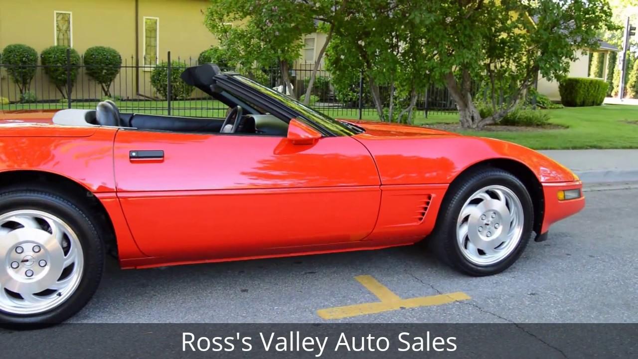 1996 Chevrolet Corvette Convertible Ross S Valley Auto Boise Idaho