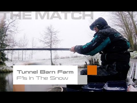 Live Match Fishing: Tunnel Barn Farm, F1s In The Snow