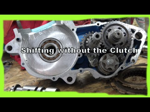 Dirtbike: Shifting without the clutch