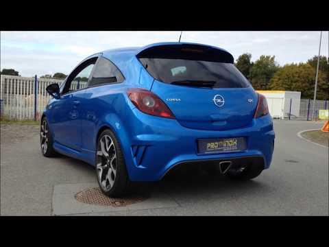 OPEL Corsa OPC - Custom inox exhaust