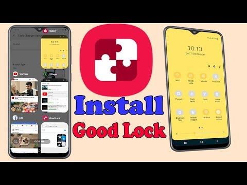 Good Lock 2019 : How To Install Good Lock On Samsung Galaxy A20/A30/A50/M20/M30/S10/N9 #HelpingMind