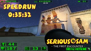 Serious Sam: The First Encounter - SpeedRun - 0:35:32