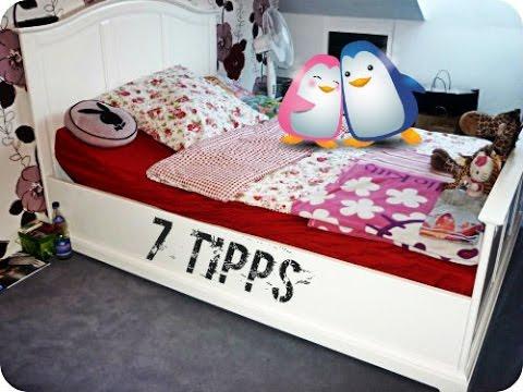 zimmer aufr umen 7 tipps meine routine youtube. Black Bedroom Furniture Sets. Home Design Ideas