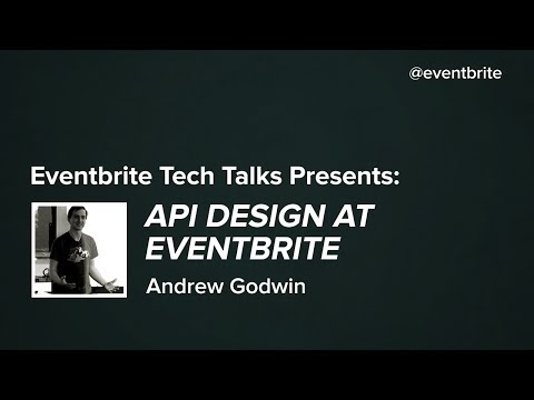 API Design at Eventbrite