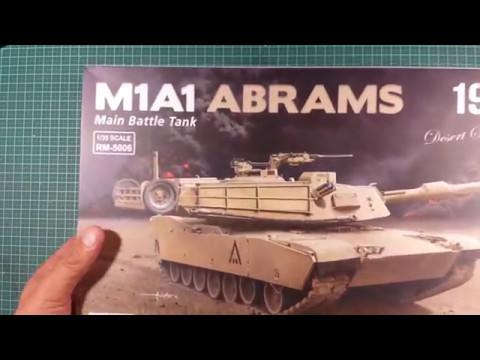 Ryefield Model RM-5006 1:35 M1A1 Abrams MBT 1991