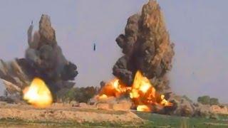 6 JDAM BOMBS EXPLODE IN AFGHANISTAN