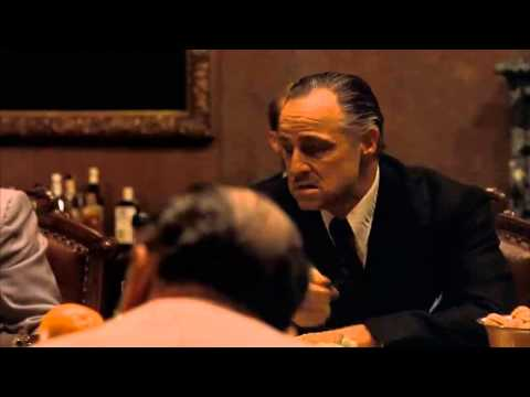 The Godfather Part 1  The Meeting