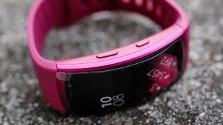 samsung gear fit 2 smartwatch de unboxing deutsch