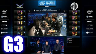TSM vs yoe Flash Wolves | Game 3 Semi Finals IEM World Championship Katowice 2015 LoL | TSM vs YFW