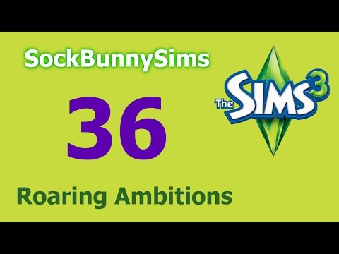 Sims 3 - Roaring Ambitions - Ep 36 - Spawn Ghost Jobs