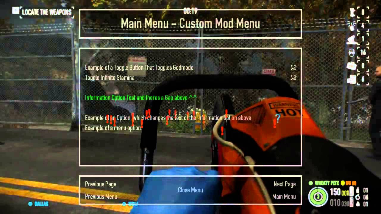 Release] Custom Mod Menu Class Using GUI Drawing