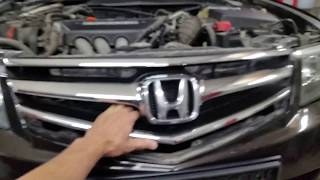 видео Решетки бампера