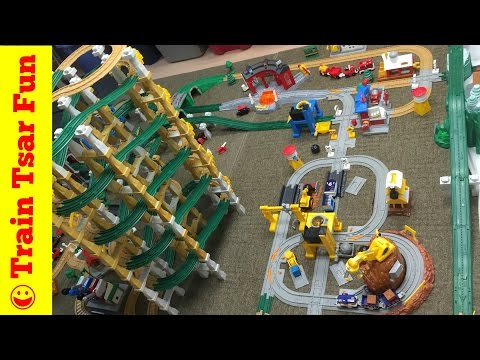 EPIC GEOTRAX Trains Large Collection Classic Fisher Price Toy