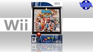 Snk Arcade Classics Vol 1 Gameplay Wii  ( 2008 )