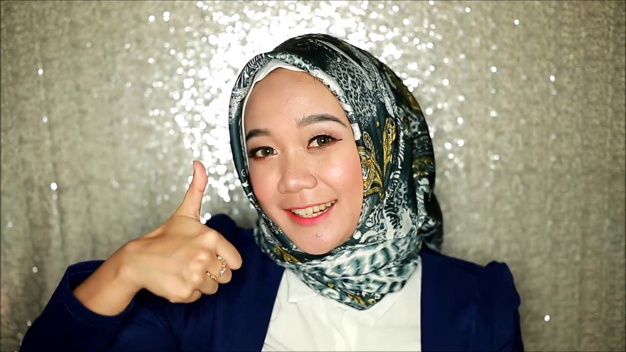 tutorial hijab satin - dian pelangi - youtube